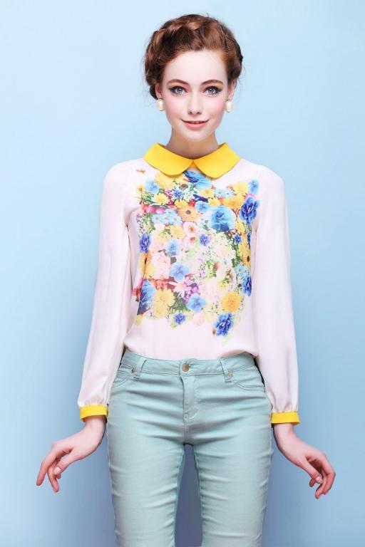Модные Молодежные Блузки Доставка